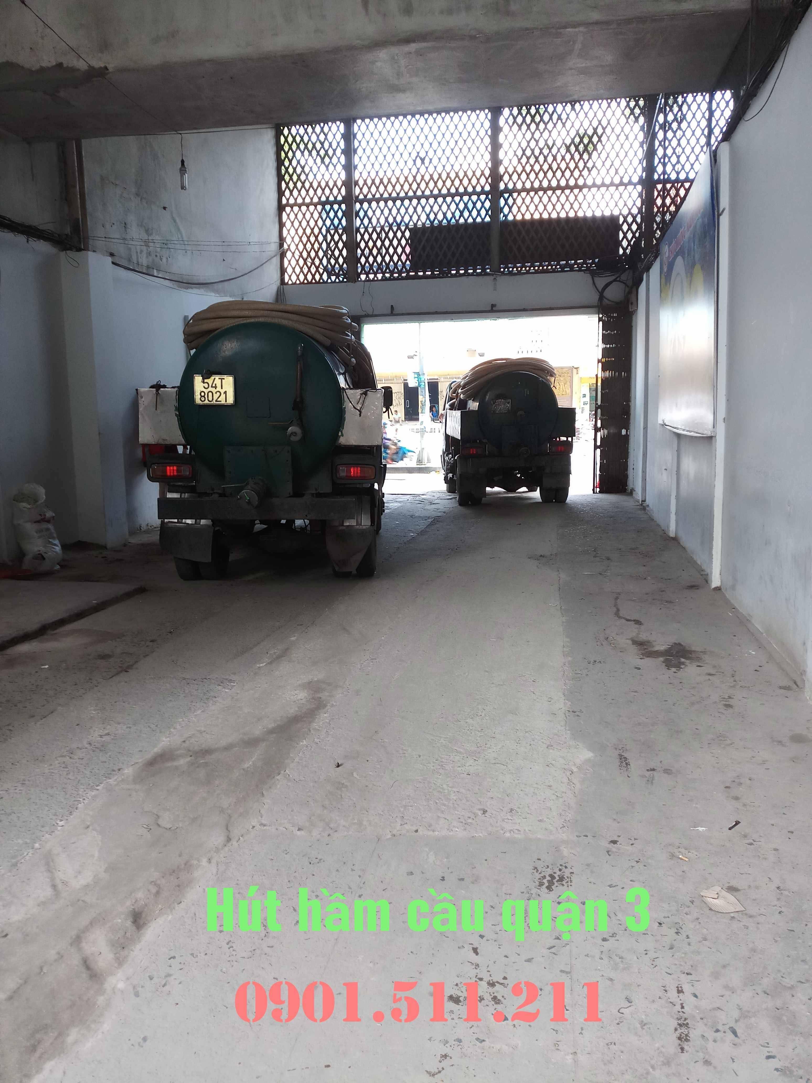 Hút hầm cầu quận 3 uy tín giá rẻ HOÀNG LONG 0901511211