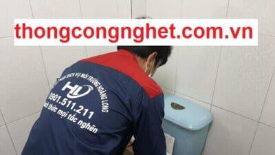 Thông cống nghẹt huyện Bình Chánh giá 5OOK, Bảo Hành 2 tháng