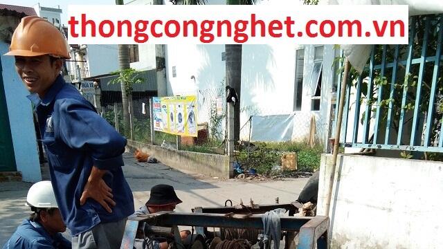 thông cống nghẹt huyện nhà bè