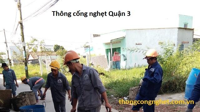 thông cống nghẹt quận 3