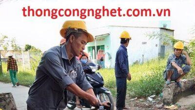 Công Ty Thông Cống Nghẹt Phường Nguyễn Cư Trinh Quận 1 Giá 500k