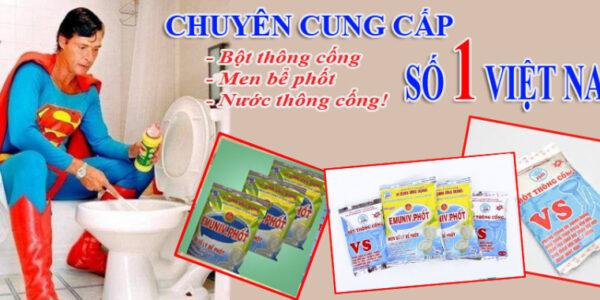bot thong cong nao tot nhat cach su dung bot thong bon cau