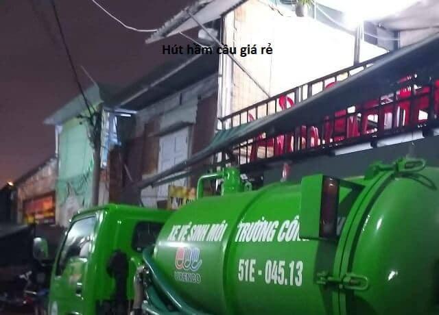 Quy trình xử lý hút hầm cầu.