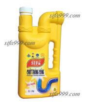 Hóa chất thông cống SiFa siêu mạnh chuyên xử lý sự cố tắc nghẽn