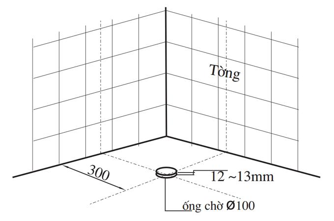 cách khử mùi hôi nhà vệ sinh bằng đặt ống thông hơi bồn cầu