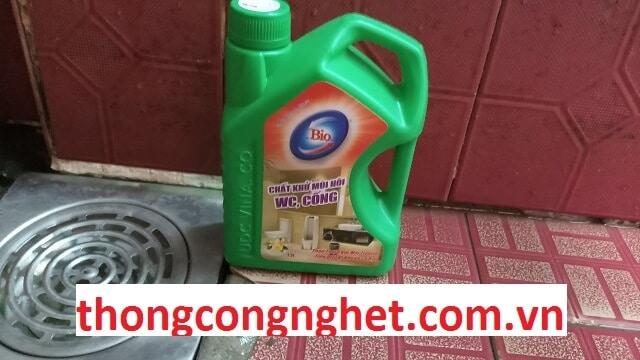 hóa chất khử mùi hôi cống bios