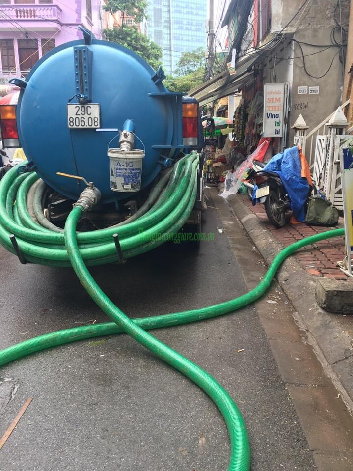 Cảnh báo lừa đảo dịch vụ thông tắc cống tại Hà Nội