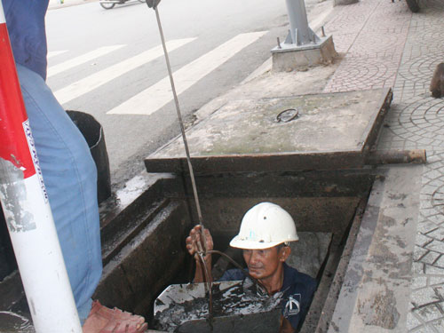 Dịch vụ bảo trì thông cống nghẹt khu chế xuất Tân Thuận