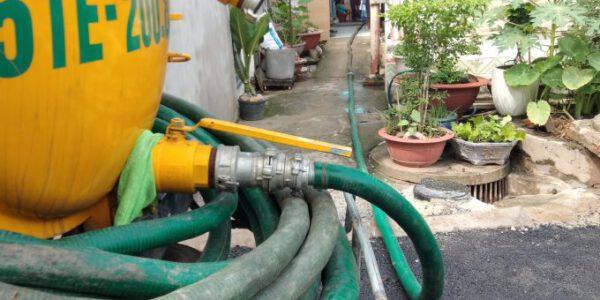 Giá rút hầm cầu tại Đà Nẵng bao nhiêu tiền 1 khối?