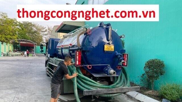 Hút hầm cầu tại Long An bao gồm dịch vụ gì ?