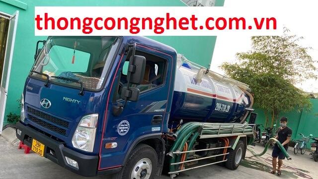Hoàng Long - công ty hút bể phốt tại Hoàn Kiếm uy tín giá rẻ.
