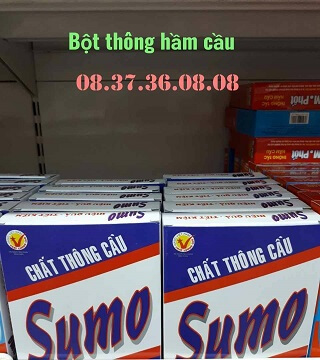 Bột thông bồn cầu Sumo là gì?