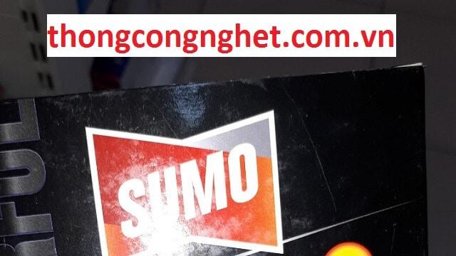 hóa chất thông cống sumo