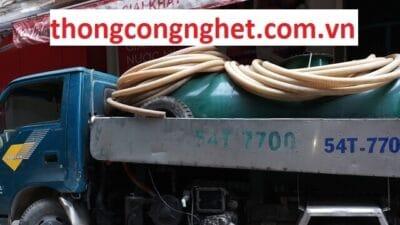 Dịch vụ rút hầm cầu tại Sài Gòn giá rẻ 5OOk Bảo Hành 1 Tháng.