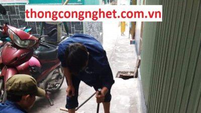 Thông cống nghẹt huyện Mộc Hóa giá 500k, đảm bảo uy tín