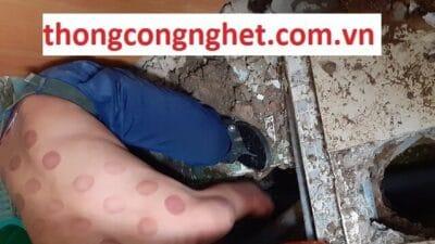 Thông cống nghẹt huyện Phú Giáo giá rẻ 500k, bảo hành tư vấn