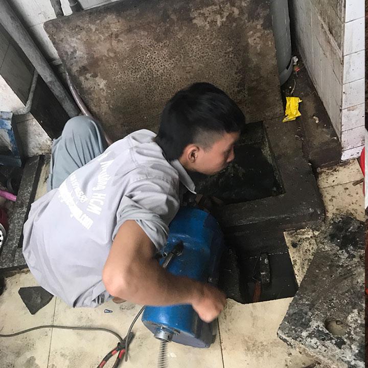 Thông cống nghẹt huyện Tân Uyên giá 500k, đảm bảo uy tín