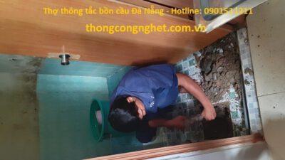Thợ thông tắc bồn cầu Đà Nẵng giá rẻ 500k, tư vấn miễn phí