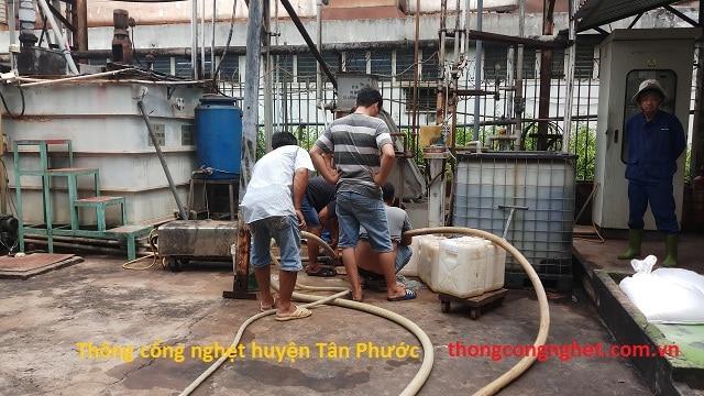 Thông cống nghẹt Huyện Tân Phước ( Tiền Giang ) giá rẻ 500k