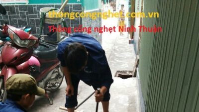 Thông cống nghẹt Ninh Thuận giá chỉ 500k, tư vấn miễn phí