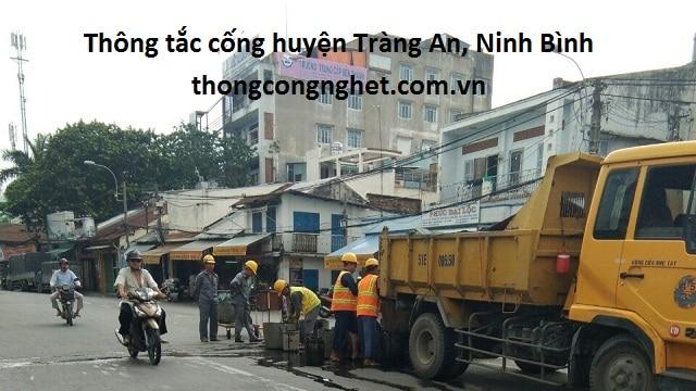thông tắc cống huyện tràng an