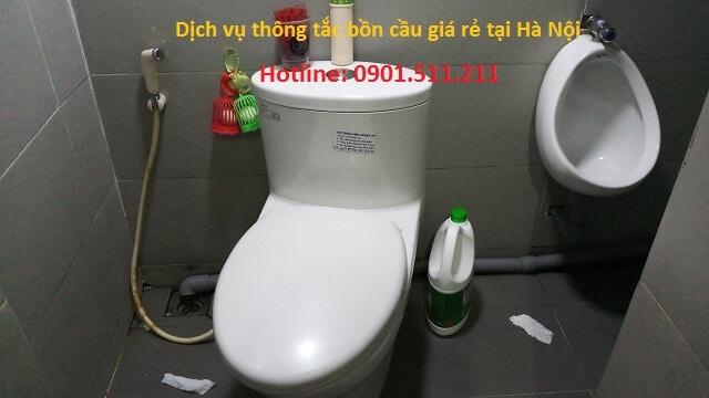 Vì sao nên chọn dịch vụ thông bồn cầu toilet của Hoàng Long?
