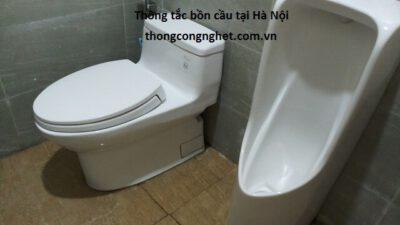 Thông tắc bồn cầu tại Hà Nội giá chỉ từ 500k