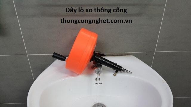 Dụng cụ thông tắc lavabo