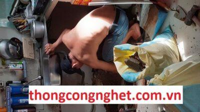 thông cống nghẹt huyện cẩm mỹ