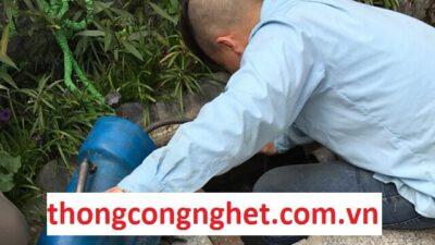 thông cống nghẹt huyện long thành