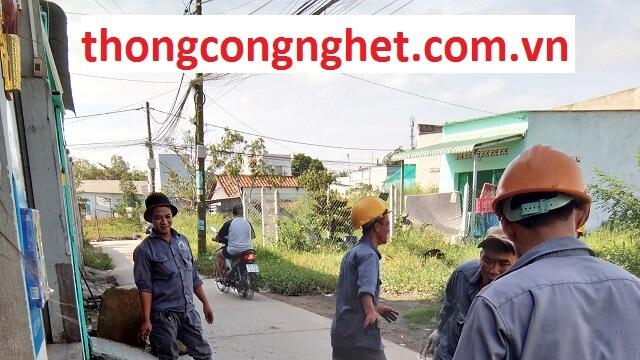 thông cống nghẹt huyện tân phú