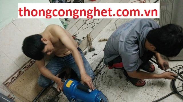 thông cống nghẹt huyện trảng bom