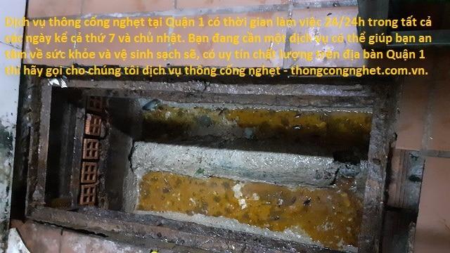Những dấu hiệu nào cống bị nghẹt tại Khánh Hòa.