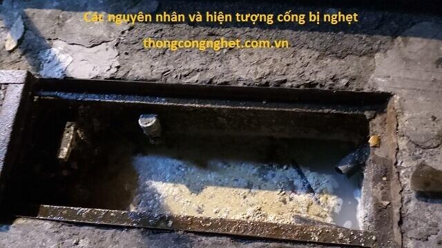 Các lý do phổ biến làm đường cống, ống thoát nước bị nghẹt Quận 7.