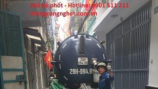 Báo giá hút bể phốt tại Quận Long Biên là bao nhiêu tiền?