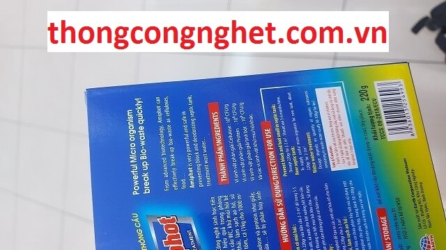 Bột thông cống nghẹt Thái Bảo