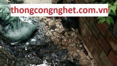 Nguyên nhân tắc cống, cách xử lý ống nước thải bị tắc hiệu quả