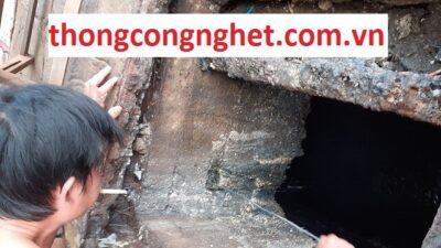 thông cống nghẹt huyện hòa vang