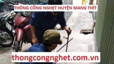 Thông Cống Nghẹt Huyện Mang Thít Giá 500k, ĐẢM BẢO UY TÍN