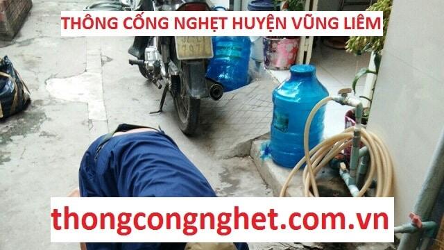 thông cống nghẹt huyện vũng liêm