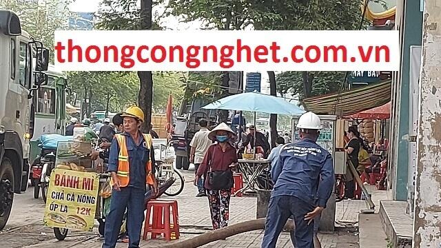 Lưu ý quan trọng khi thuê dịch vụ thông tắc cống Sài Gòn.