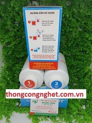 thuốc xử lý hầm cầu hando