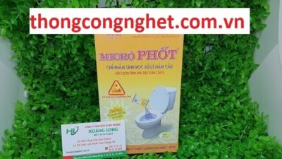 thuốc xử lý hầm cầu microphot