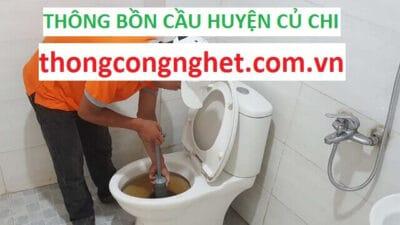 Thông Bồn Cầu Tại Huyện Củ Chi Giá 5OOK, BẢO HÀNH 1 THÁNG
