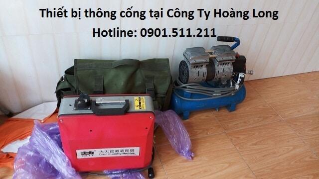 Giới thiệu một số trang thiết bị thông tắc cống tại An Giang.