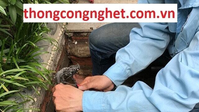 Thông cống nghẹt huyện Phú Tân An Giang.