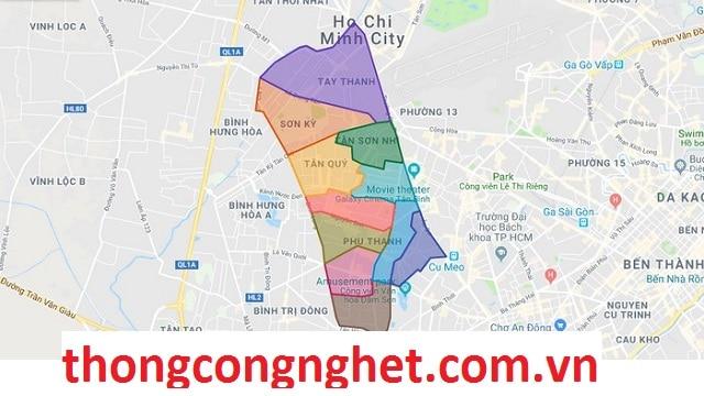 Giới thiệu về Phường Phú Thạnh Quận Tân Phú