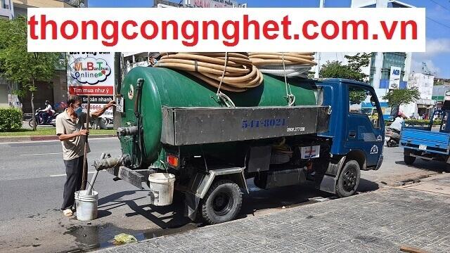 Hoàng Long - Công ty rút hầm cầu Huế giá 500K