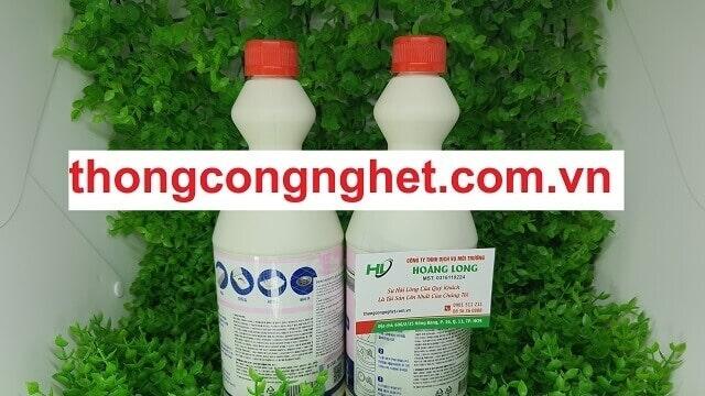 Thông tin mô tả sản phẩm nước thông cống Hàn Quốc