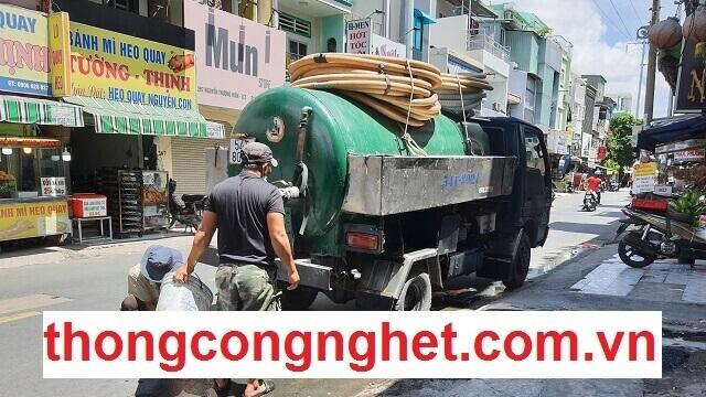 Báo giá xe hút bể phốt tại Long Biên chi tiết nhất: